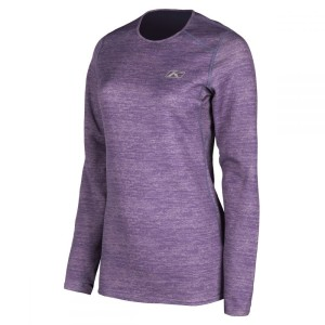 Bluza Dama Klim Base Layer Solstice 1.0 Deep Purple Heather
