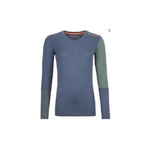 Bluza Corp Ortovox Dama 185 Merino Rock N Wool Night Blue Blend