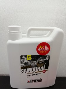 Ulei 2T iPone Samurai Racing Strawberry 5L