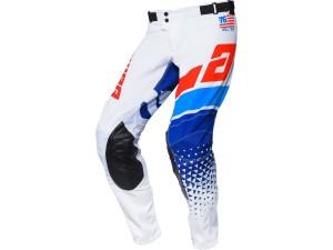 Pantaloni Answer Elite Korza White/Red/Hyper Blue/Reflex