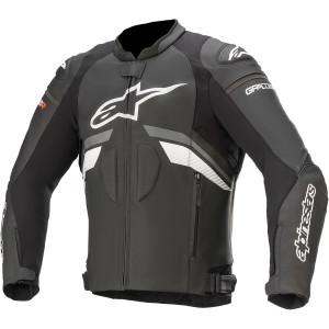 Geaca Piele  Alpinestars Gp R Plus V3 Black/Dark Grey/White