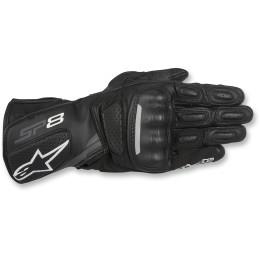 Manusi Piele Alpinestars SP-8 v2 Black/Dark Grey