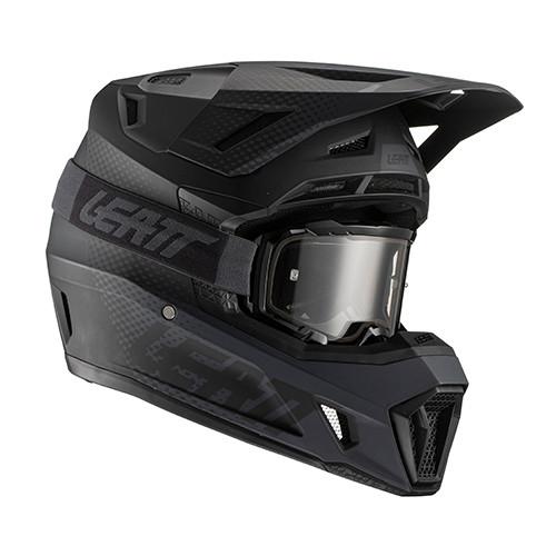 Promotie Casca Leatt  7.5 Black  + Ochelari Leatt Velocity 4.5