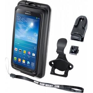 Suport Ram Mounts Dispozitiv Aqua Box Pro 20 Iphone 3/4/5 Case And Clip Transparent Composite Black - Ram-holaq7-2cou