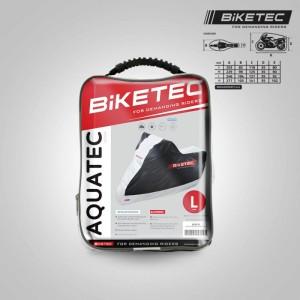 Huse Moto BikeTec Aquatec Impermeabila Negru Gri