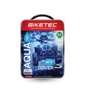 Husa BikeTec Impermeabila ATV Culoare Negru/Gri