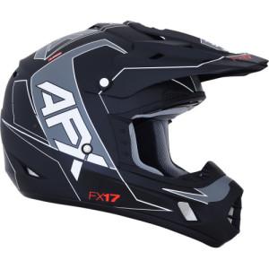 Casca AFX FX-17 Black/Matte/White