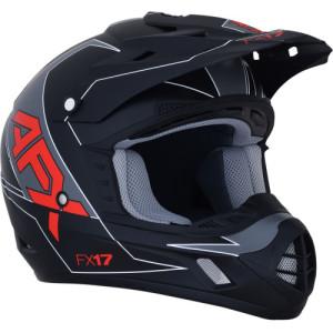 Casca AFX FX-17 Black/Matte/Red