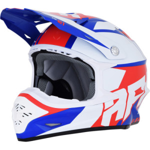 Casca AFX FX-21 Solid Blue/Red/White