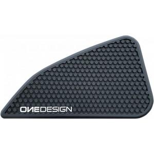 Placi Aderente Rezervor OneDesign Ducati Scramble Negru