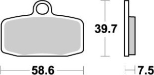 Placute frana fata KTM Freeride/SX85 12-19 Moto-Master Nitro
