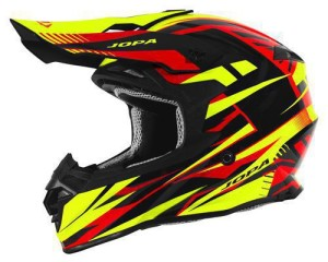 Casca Jopa Hunter Legacy Fluo Yellow/Red