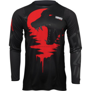 Tricou Thor Pulse Counting Sheep Black/Red
