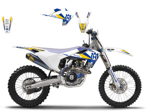 Kit stickere Husqvarna 17 Blackbird Dream3