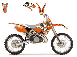 Kit stickere KTM 04-07 Blackbird Dream3