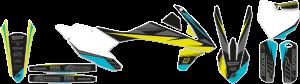 Kit grafice KTM 17-19 Blackbird Stealth cu husa de sa