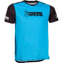 Tricou Moose Racing MTB Blue/Black
