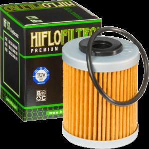 Filtru ulei KTM 00-07 HF157 Scurt -  Hiflo Filtro