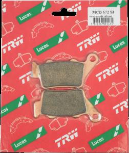 Placute frana spate KTM TRW -03 SI