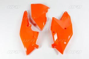 Panouri laterale KTM cu capac airbox 17-19 UFO Fluo portocaliu