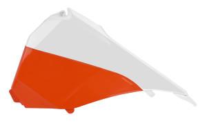 Capac airbox KTM 14-16 Polisport portocaliu/alb