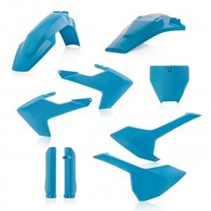 KIT COMPLET PLASTICE HUSQVARNA 17-19 LIGHT BLUE