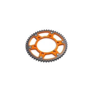 Pinion otel-aluminiu Portocaliu KTM