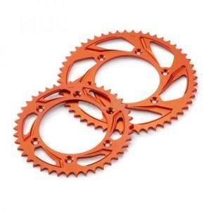 Pinion aluminiu KTM portocaliu