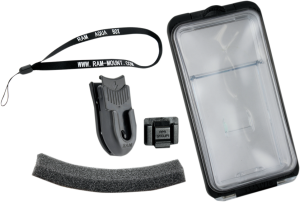 Husa telefon impermeabil cu suport RAM Aqua-Box 14cm x 71mm x 14mm