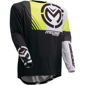 Tricou Moose Racing M1 Black/Hi-Viz