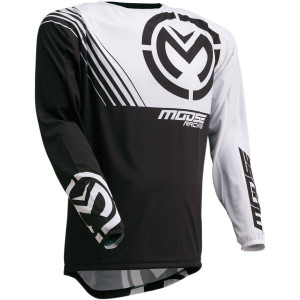 Tricou Moose Racing M1 Black/White