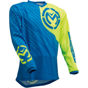 Tricou Moose Racing QUALIFIER Blue/Hi-Viz