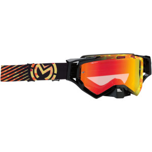 Ochelari Moose Racing XCR Camo Yellow/Orange