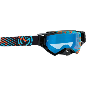 Ochelari Moose Racing XCR Camo Blue/Orange