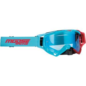 Ochelari Moose Racing XCR Hatch Blue/Red