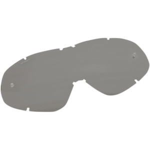 Lentile color Moose Racing Qualifier Silver Mirrored