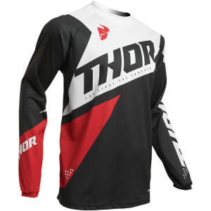 Tricou copii THOR Sector Blade Charcoal/Red