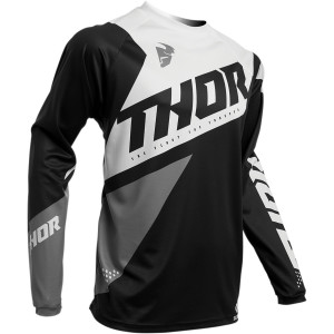 Tricou copii THOR Sector Blade Black/White
