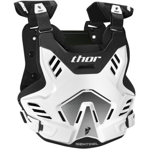 Armura copii THOR Sentinel GP White/Black