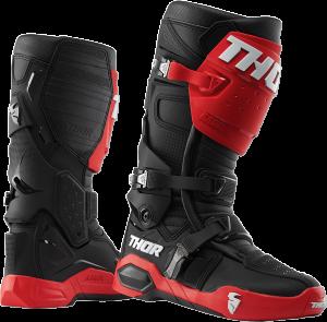 Cizme Thor Radial MX Red/Black
