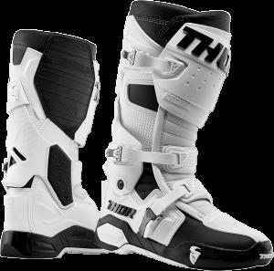 Cizme Thor Radial MX Fluo White