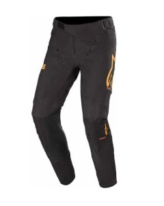 Pantaloni ALPINESTARS Supertech Black/Orange/Red Fluo