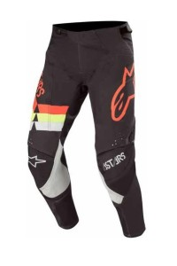 Pantaloni ALPINESTARS Techstar VENOM Black/Red Fluo/Yellow Fluo