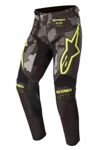 Pantaloni ALPINESTARS Racer Tactical Black/Gray Camo/Yellow Fluo