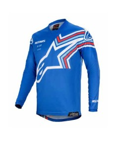 Tricou copii ALPINESTARS Racer BRAAP Blue/Off White