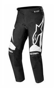 Pantaloni ALPINESTARS Racer Supermatic Black/White