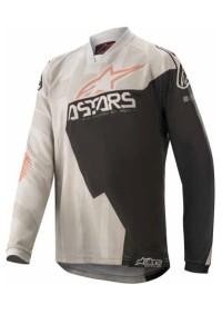 Tricou copii ALPINESTARS Racer Factory Gray/Black Rust