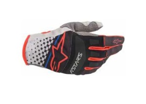 Manusi ALPINESTARS Techstar Light Gray/Black/Bright Red
