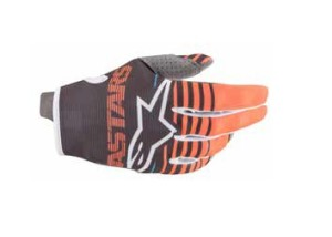 Manusi ALPINESTARS Radar Anthracite/Orange Fluo