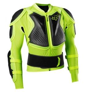 Armura FOX Titan Sport Jacket Fluo Yellow